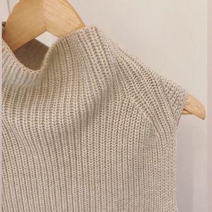 ARITZIA Wilfred Cream Durandal Sweater